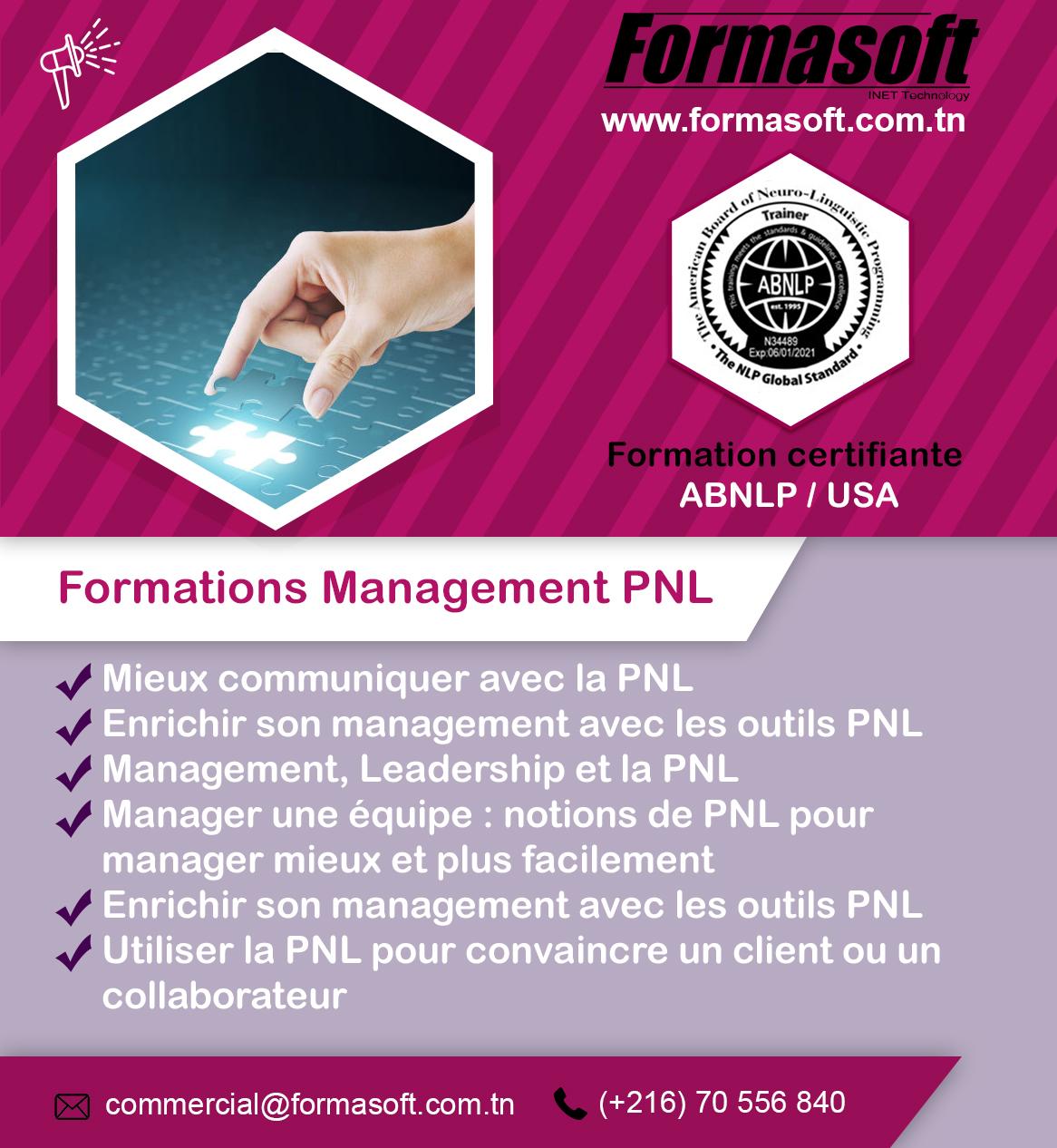 formation management pnl tunisie